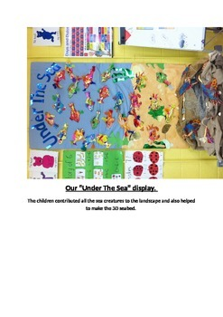 Under The Sea Classroom Display