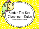 Under The Sea Classroom Rules