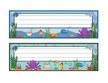 Under The Sea Classroom Set