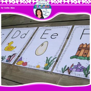 Under The Sea Classroom Theme - Alphabet Posters