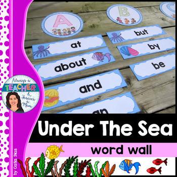 Under The Sea Classroom Theme - BUNDLE
