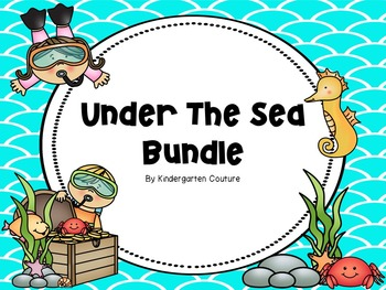 Under The Sea Classroom Theme BUNDLE
