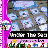 Under The Sea Classroom Theme - Classroom Jobs with EDITAB