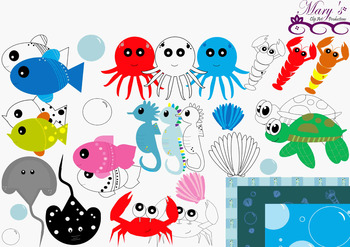 Under The Sea - Clip Art