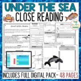 Under The Sea Reading Comprehension Passages and Questions US/NZ