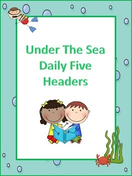 Under The Sea Daily Five Headers