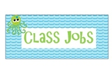 Under The Sea Job Cards