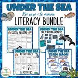 Under The Sea Literacy Bundle New Zealand Reading Writing