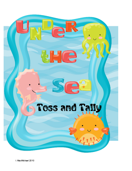 Under The Sea Math Centers K-1