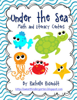 Under The Sea  - Ocean Centers for Math and Literacy