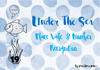 Under The Sea Place Value and Number Recognition