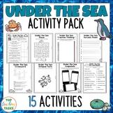 Under The Sea Reading Writing Creative Thinking Activity P