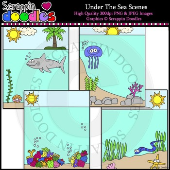 Under The Sea Scenes Backgrounds