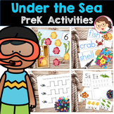 Under The Sea PreK Literacy and Math Activities