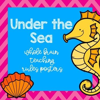 Under The Sea Whole Brain Teaching Posters