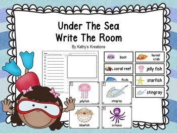 Under The Sea Write The Room