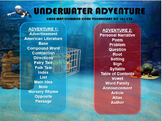 Common Core and MAP Vocabulary Game RIT 141-170 Under Water Adventure
