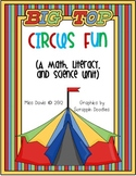 Under the Big Top Circus Math, Science, and Literacy Fun
