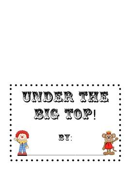 Under the Big Top! Circus Writing Center
