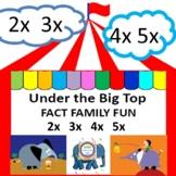 #backtoschool Under the Big Top Fact Family Fun 2x  3x  4x  5x