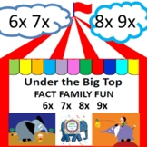 Under the Big Top Fact Family Fun    6x  7x  8x  9x
