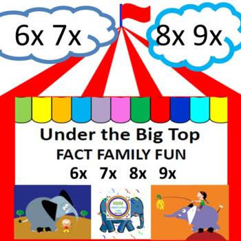 Under the Big Top Fact Family Fun    6x  7x  8x  9x