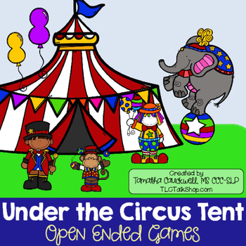 Under the Circus Tent: Open-Ended Game
