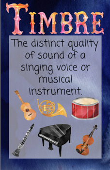Under the Musical Sea: Anchor Charts