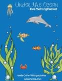 Under the Ocean Pre-Writing Packet