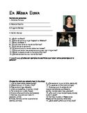 Under the Same Moon - Bajo la Misma Luna Worksheet & Key