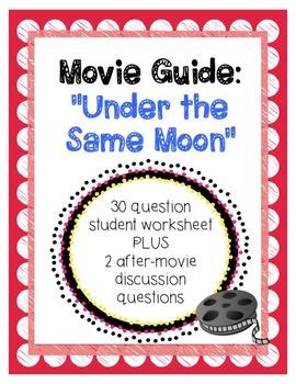 Under the Same Moon Viewing Guide & Questions - La Misma Luna - Immigration