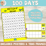 Under the Sea 100 Days of School Countdown With Tens Frames