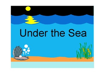 Under the Sea (Adapted Book)