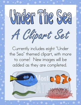 Under the Sea: A Fish and Ocean Themed Clipart Pack!