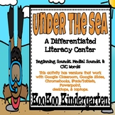 Under the Sea- A Differentiated Digital Learning Center fo
