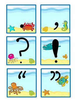 Under the Sea - ABC Cards