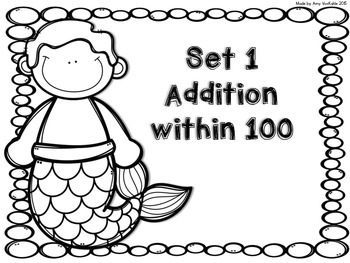Under the Sea Addition & Subtraction Task Cards