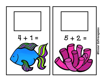 Under the Sea Addition and Subtraction