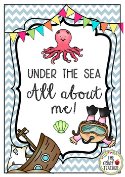 Under the Sea - All about me! Classroom Display