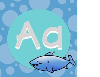 Under the Sea Alphabet