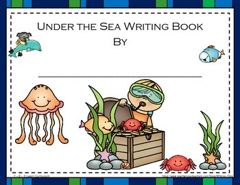 Under the Sea Alphabet Cards and Writing Book