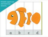 Under the Sea Alphabet Puzzles