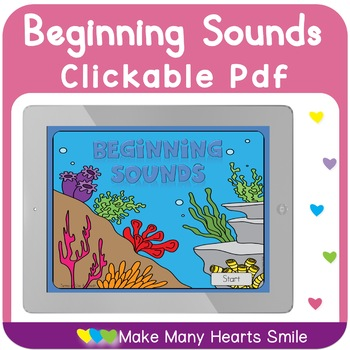 Under the Sea Beginning Sounds Interactive Pdf