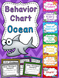 Under the Sea Behavior Chart (Ocean Theme Classroom)
