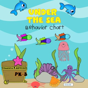 Under the Sea Behavior Clip Chart