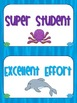 Behavioral Chart- Under the Sea Theme