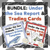 Informational Writing Templates | Ocean Animals Writing BUNDLE