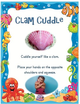 Under the Sea Calm Down Method Posters