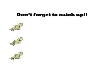 Under the Sea- Catch Up Sign