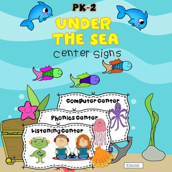 Under the Sea Center Signs
